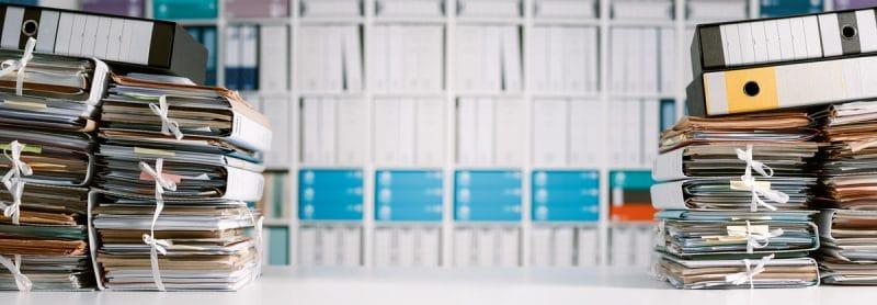 Stockage d'archives en entreprise